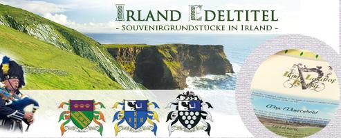 Irland Edeltitel für zwei Freunde verschenken