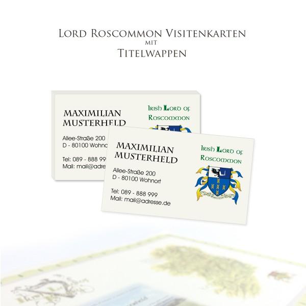 Visitenkarten Roscommon