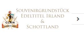 Souvenirgrundstück Edeltitel Irland & Schottland
