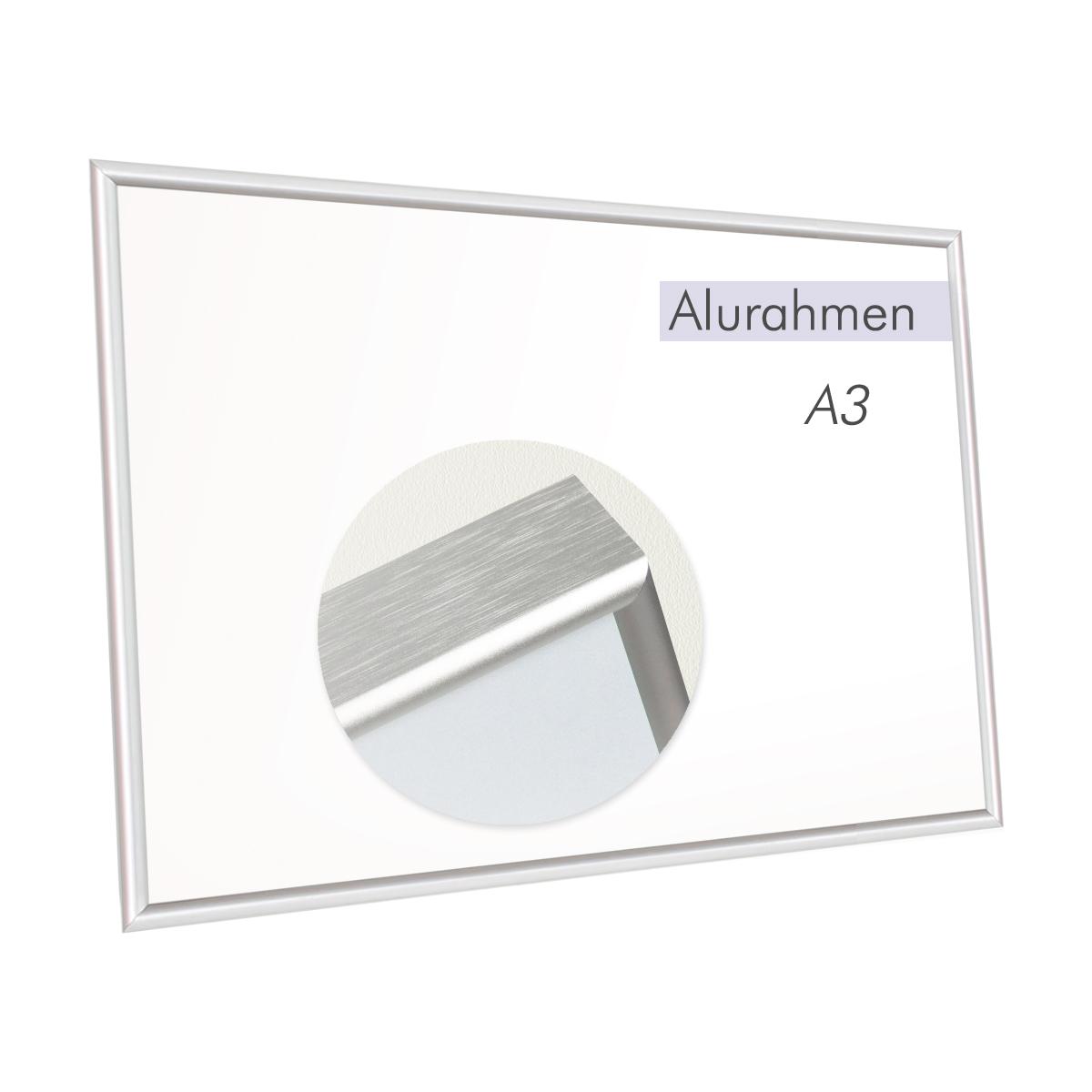 Bilderrahmen A3 Alu-Glas | Mondland Geschenkideen
