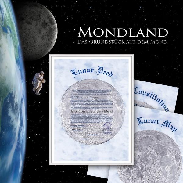 Mondgrundstück Besitz