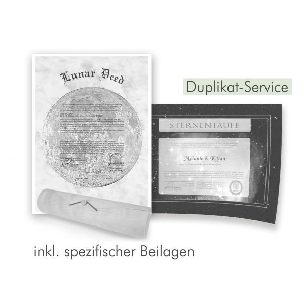 Nachdruck-Duplikat Service