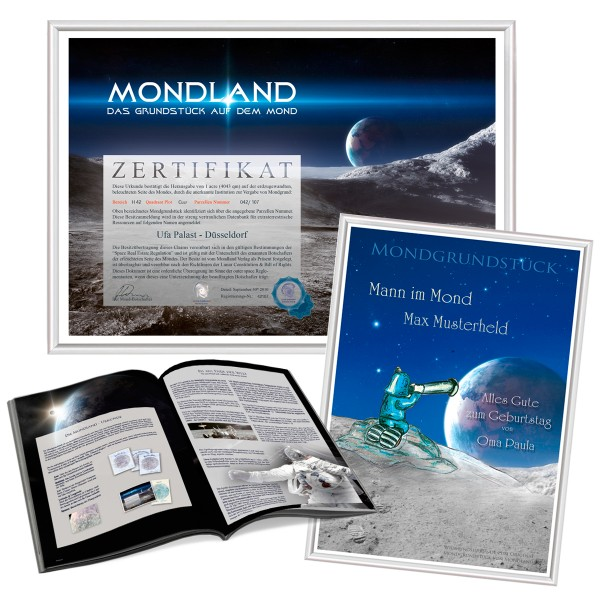 Mondland und Buch