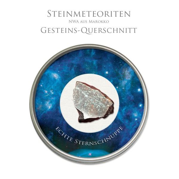 Steinmeteorit NWA Schnittstück